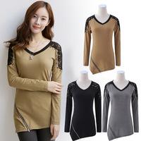 blouse cotton women female shirts fashion brand blusa renda ladies tops korean style wholesale free shipping roupas femininas 19