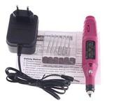 Free Shipping Pen Shape Electric Nail Drill Machine Art Salon Manicure File Polish Tool+6 Bits wholesale