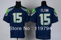 Free Shipping Cheap Wholesale Authentic Elite American Football Jerseys #15 Matt Flynn Jersey Embroidery Logo Mixed Order