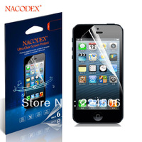 6X Nacodex Anti-Scratch HD Clear Screen Protector Cover Guard For Apple iphone 4 4s Free  Shipping