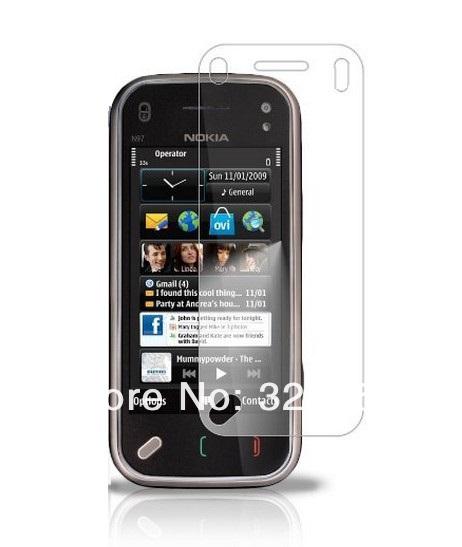Anti-glare (matte) screen protector For Nokia N97 Mini free shipping 100pcs/lot(China (Mainland))