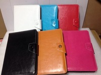 "New Many Colors PU Leather Folio Folding Flip Cover Case For Android Tablet PC 6.5 "" To 7.8 """