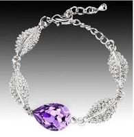 Heart drop crystal bracelet fashion quality female bracelet