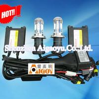 2014 hot !!! AC Slim Hid kit Headlights Bulbs Luces Xenon Hid Kit H4 H/L 55w 6000k  Free Shipping!