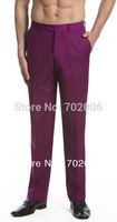 2014 Top Fasion Hot Sale Cotton Active Waffle High Details About Concitor Men's Dress Pants Trousers Flat Front Slacks Eggplant