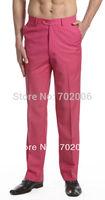 2014 Rushed Cotton Formal Woolen Loose Drawstring Low Details About Concitor Men's Dress Pants Trousers Flat Front Slacks Hot