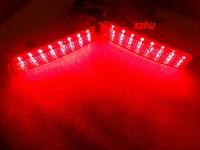 Car LED brake light, LED rear bumper light, LED rear fog lamp case for Infiniti FX37 2014, FX35 2009~12, FX50 2009~2013, 24 LEDs