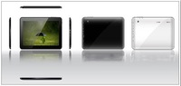 dhl free shipping 10.1 inch A20 Android 4.2 Tablet PC 1G 8GB TFT Capacitive  Dual Core Dual Camera WiFi HDMI 1024*600