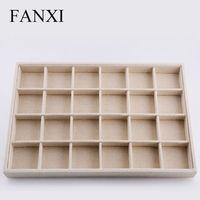 NCFANXI P055 Tray has 24 Grids,jewelry tray,high quality jewelry tray.