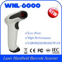 long distance barcode scanner  WNL-6000-SR 1D laser bar code handheld scanner