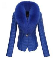 Free shipping fashion brand 2013 winter long down jackets coats manteau women fur collar woolrich kensington parka with fur