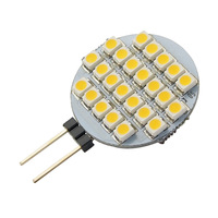 2014 New Gift for Led Car Lamp 3528SMD LED Bulb Special Round Surface 12V DC 24SMD WARM/COOL WHITE LED CAR LAMP