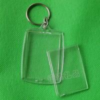 key finder Customize keychain photo frame keychain blank acrylic keychain plastic transparent keychain