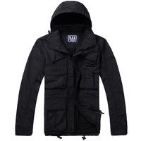 Ver5 Camouflage clothing 511 reticularis multifunctional outdoor jacket breathable multifunctional outdoor jacket black