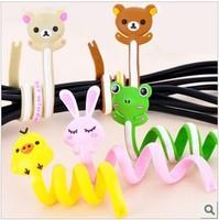 Fashion slitless cable winder cartoon earphones cable winder cable winder 7g