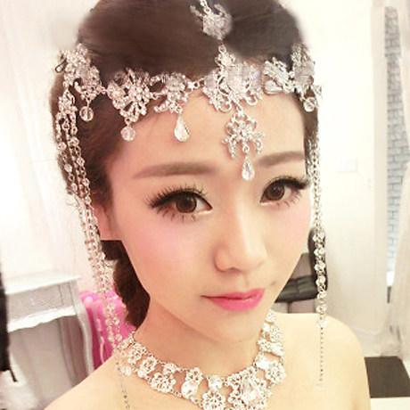 Hair Crown Tiara Hair Wedding Jewelry Accessories Crystal Hair