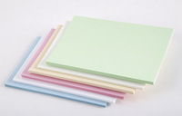 FREE SHIPPING 50 PCs Color Kraft Paper Crafts Blank DIY Paper Card Gift Paper 10x15cm