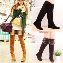 popular fur snow boots women