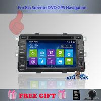 Koason For Kia Sorento  2010-2012 GPS Navigator Radio Player ,free Better Quality Better Service Free Shipping+Gifts