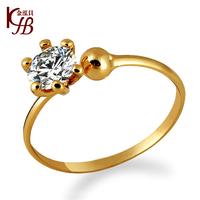 2014 Jewelry women's ring finger ring classic zircon sparkling diamond lovers