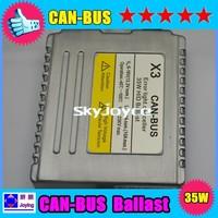 Super version 35W EMC and warning canceller HID canbus xenon ballast X3 Error free hid xenon ballast 20 pcs per lot