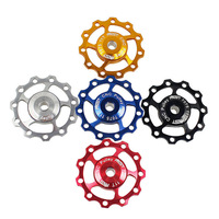 EAST Mountain Bicycle MTB Alloy 7075 CNC Aluminium Jockey Wheels Rear Derailleur Pulley 11T Bike Parts Accessories (5 colors)