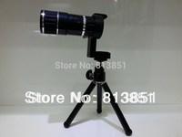 Mobile Phone Telescope Camera 12x Zoom Optical Lens For Universal Phone Lens Holder