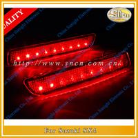 Suzuki SX4 LED Rear Bumper Reflector Light,  Night Running Light ,Brake Light,Turning Light Function,Free Shipping!!!