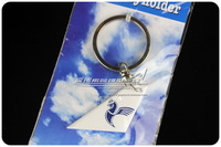 4cm Cute Mini Iran Air Airlines Wing Plane Keychain Key chain Airplane Tailplane Keyring Key Ring Free Shipping