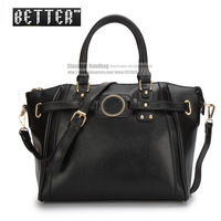 Hot Sale Vintage Preppy Style Leather Women's Handbag High Quality Fashion Purse Totes Shoulder Stamp Messenger Bags