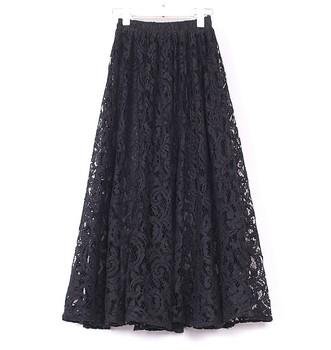 est Женщины's Elegant Fairy Ankle Half-Длина Кружево Cutout Skirt 2014 Spring ...