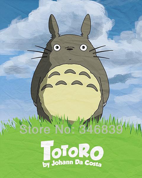 "Hayao Miyazaki Cute Japan Anime Movie 32""x48"" Poster Free Shipping"