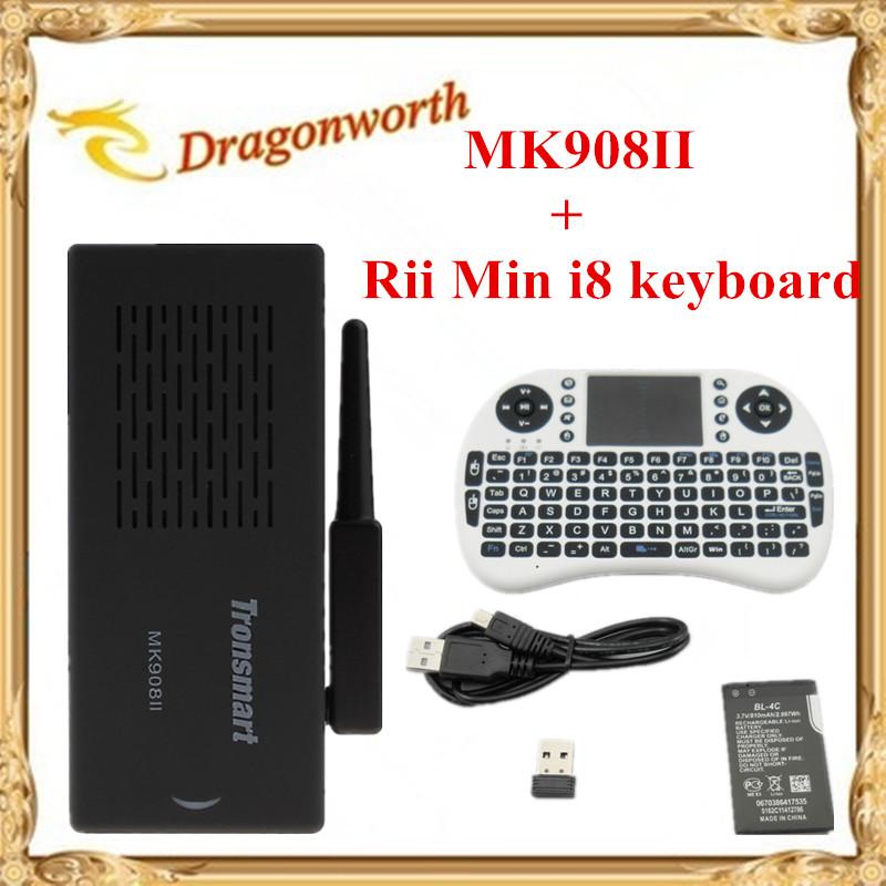 WiFi Antenna Tronsmart MK908II RK3188 Quad Core Android Mini TV Box HDMI PC Stick Dongle 2GB RAM MK908 II+Rii Min i8 keyboard(China (Mainland))