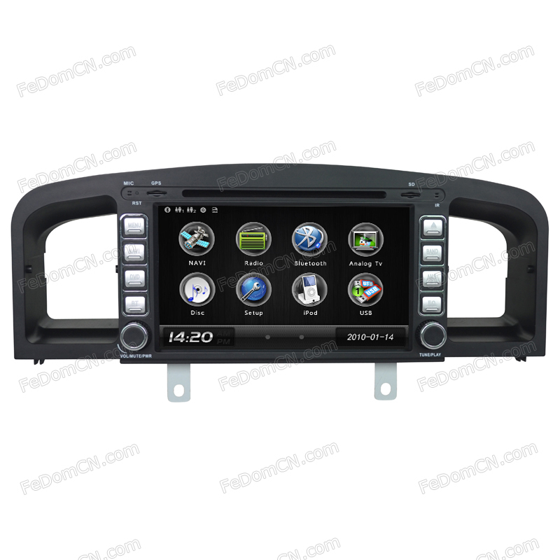 """For Lifan 620 8"""" Car DVD Player GPS Navigation Radio Dual System Touch Screen USB iPod/ USB Bluetooth Control(China (Mainland))"""