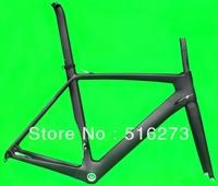 (FR318) Full Carbon UD Matt Matte Road Bike Frameset  BSA ( frame , fork , seatpost , clamp , headset)
