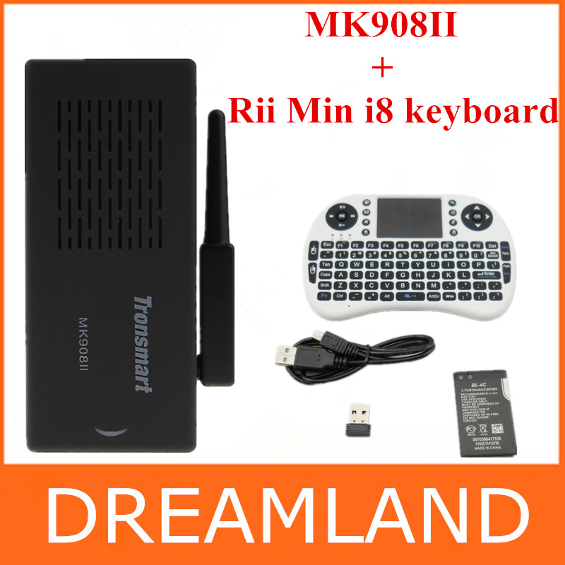 Antena wifi tronsmart mk908ii rk3188 quad core android tv box hdmipc palo 2gb dongle hd ram mk908 ii +rii min i8 teclado
