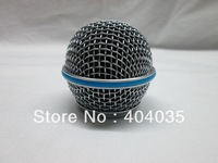 Free shpping 5pcs/lot Ball Head Mesh Microphone Grille Fits For SLX24/ PGX24/ beta58 microphone