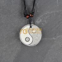 Ethnic Necklace Bone JeweLry Wooden bead Decoration Original Personality Birthday Present Tai Ji N0343