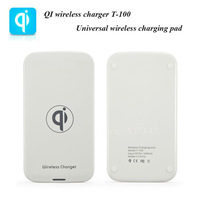 White T-100 QI Universal wireless charging pad for Nokia Lumia 920/LG Nexus 4/Galaxy S3/Note 2/S4 QI wireless power charger