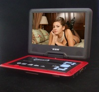 Hd mobile HEVD 10.8 inch portable DVD EVD  player with TV  Free shipping, cheap, hot sales