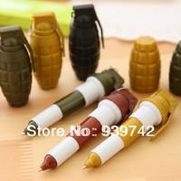 Stationery   School supplies Ballpoint Pens grenade pen Multicolor