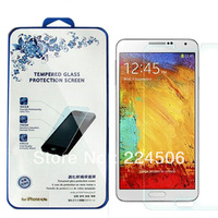 New 9H 0.26mm Tempered Glass Screen Protector For Samsung Galaxy Note 3 N9000 Free Shipping