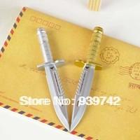 Stationery   School supplies Ballpoint Pens dagger stiletto  knife pen Multicolor