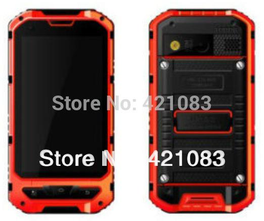 Мобильный телефон OEM A8 Android IP67 4.0 MTK 6572 1,2 GPS WCDMA 3 новый телефон gps 8mp 2015 68 из четырехъядерных android есть телефон v12 большой аккумулятор сотового телефона для a8 h5