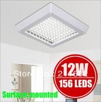 4w 6w 8w 12w LED kitchen light chandelier walkway Lighting Bathroom Lighting Ceiling lamps white /Warm white 220V230V240V Square