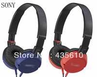 Free shipping 3.5mm stereo headphone DJ headphone headset MP3 MP4 headphones earpieces sound headset handsfree.