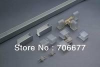 Neon Accessories for 1 roll 50m Neon, Aluminum Channel 50m 5pcs power line , 5 pcs T connectors, 10 pcs End capes