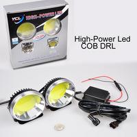 4.8W 7cmX45.4cmX 7CM COB LED DRL High-Power LED Auxiliary Light Driving Daytime Running Lights Super Bright Lamp High Quality