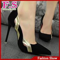 2014 Vintage Sexy Pointed Toe Women Pumps Red Bottom High Heels Shoes Brand Design Cutout Less Platform Pumps DDM145