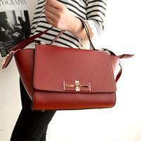 2014 spring  Valentin  designer women messenger bag shoulder bag super PU leather  American Euriopean Smily face Set bag